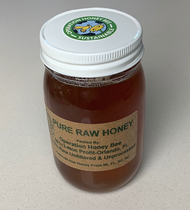 24 oz Raw Wild Mountain Honey