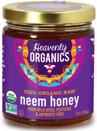12 oz Wild Organic NON GMO Fair Trade Honey