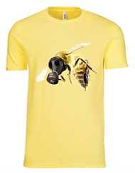 OHB Spring Yellow Mask T-Shirt