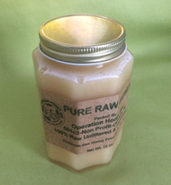12 oz pure raw honey