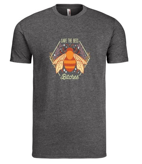 Mens Shirt - Save the Bees Bitches