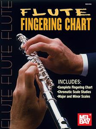 Flute Fingering Chart by William Bay