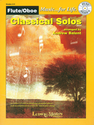 Music... for Life - Classical Solos for Flute or Oboe by Andrew Balent (Book/CD Set)