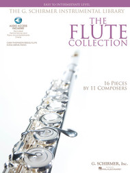 The G. Schirmer Instrumental Library - The Flute Collection: Easy to Intermediate Level (Book/CD Set)