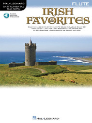 Hal Leonard Instrumental Play-Along for Flute: Irish Favorites (with Audio Access)