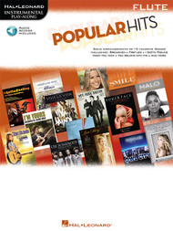 Hal Leonard Instrumental Play-Along for Flute - Popular Hits (with Audio Access)