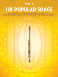 101 Popular Hits for Flute