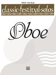 Classic Festival Solos for Oboe - Solo Book