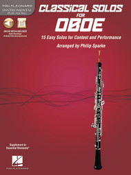 Hal Leonard Instrumental Play-Along - Classical Solos for Oboe by Philip Sparke (Book/CD Set)