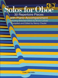 Solos for Oboe: 30 Repertoire Pieces with Piano Accompaniment for Oboe by Nancy Clauter
