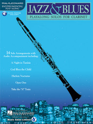 Hal Leonard Instrumental Play-Along for Clarinet - Jazz & Blues (with Audio Access)