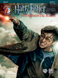 Alfred's Instrumental Play-Along -  Harry Potter Instrumental Solos, Selections from the Complete Film Series, Level 2-3 for Clarinet (Book/CD Set)