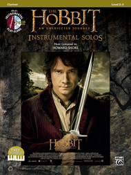 Alfred's Instrumental Play-Along - The Hobbit: An Unexpected Journey Instrumental Solos, Level 2-3 for Clarinet (Book/CD Set)