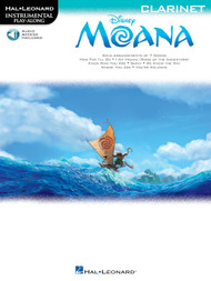 Hal Leonard Instrumental Play-Along for Clarinet - Moana (with Audio Access)