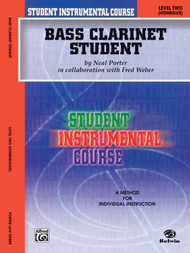 Student Instrumental Course: Bass Clarinet Student, Level 2 (Intermediate) by Neal Porter