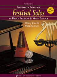 Standard of Excellence: Festival Solos, Book 1 for B♭ Bass Clarinet (Book/CD Set) by Bruce Pearson & Mary Elledge