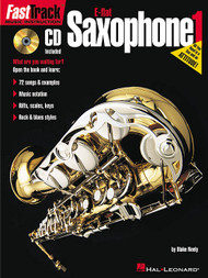 Fast Track Music Instruction: E-flat Saxophone 1 by Blake Neely (with Audio Access)