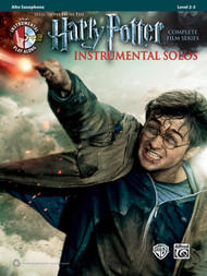Alfred's Instrumental Play-Along - Harry Potter Instrumental Solos, Selections from the Complete Film Series, Level 2-3 for Alto Sax (Book/CD Set)