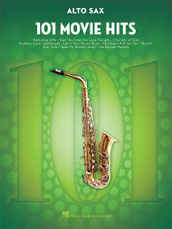 101 Movie Hits for Alto Sax