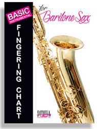 Basic Instrumental Fingering Chart for Baritone Sax