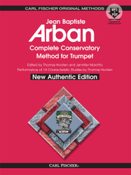 Jean Baptiste Arban Complete Conservatory Method for Trumpet - New Authentic Edition (with MP3 + PDF)