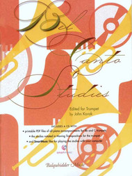 Bel Canto Studies for Trumpet by John Korak (Book/CD Set)