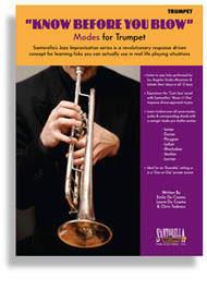 """Know Before You Blow"" Modes for Trumpet by Emile De Cosmo, Laura De Cosmo & Chris Tedesco (Book/CD Set)"