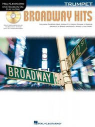 Hal Leonard Instrumental Play-Along for Trumpet - Broadway Hits (Book/CD Set)