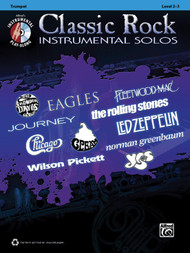 Alfred's Instrumental Play-Along - Classic Rock Instrumental Solos, Level 2-3 for Trumpet (Book/CD Set)