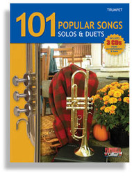 101 Popular Songs: Solos & Duets for Trumpet (Book/CD Set)