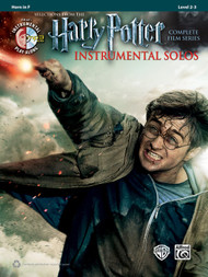 Alfred's Instrumental Play-Along - Harry Potter Instrumental Solos, Selections from the Complete Film Series, Level 2-3 for Horn in F (Book/CD Set)