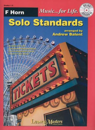 Music... for Life: Solo Standards for F Horn, Grades 1-2 by Andrew Balent (Book/CD Set)