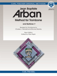 Jean Baptiste Arban Method for Trombone and Baritone - Book with Downloadable MP3 & PDF