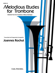 Melodious Etudes for Trombone, Book 3 by Joannes Rochut
