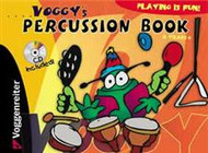 Voggy's Percussion Book (Book/CD Set)