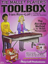 The Mallet Player's Toolbox: The Absolute Method for Mallet Percussion by John R. Hearnes (Book/CD Set)