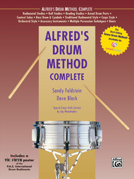 Alfred's Drum Method Complete by Sandy Feldstein & Dave Black