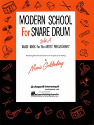 Modern School for Snare Drum with a Guide Book for the Artist Percussionist by Morris Goldenberg