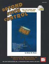 Beyond Stick Control for the Snare and Drum Set Player by Glenn W. Meyer (Book/CD Set)