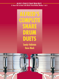 Alfred's Complete Snare Drum Duets by Sandy Feldstein & Dave Black