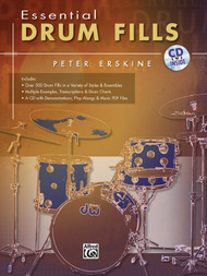 Essential Drum Fills for Snare Drum by Peter Erskine (Book/CD Set)