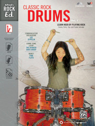 Alfred's Rock Ed.: Classic Rock Drums, Volume 1 (Book/CD Set)