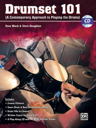 Drumset 101: A Contemporary Approach to Playing the Drums by Dave Black & Steve Houghton (Book/CD Set)