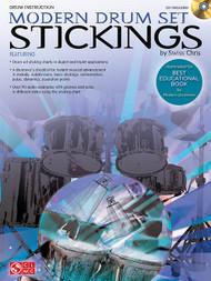 Modern Drum Set Stickings by Swiss Chris (Book/CD Set)