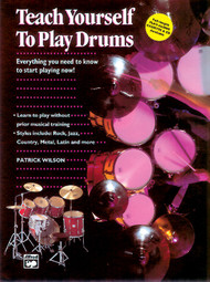Teach Yourself to Play Drums by Patrick Wilson (Book/CD Set)
