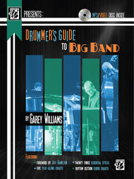 Drummer's Guide to Big Band by Garey Williams (Book/DVD Set)