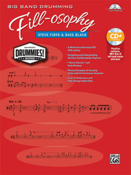 Big Band Drumming Fill-osophy by Steve Fidyk & Dave Black (Book/CD Set)
