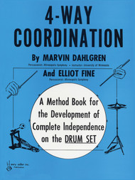 4-Way Coordination for Drumset by Marvin Dahlgren & Elliot Fine