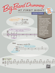 Big Band Drumming at First Sight by Steve Fidyk (Book/CD Set)