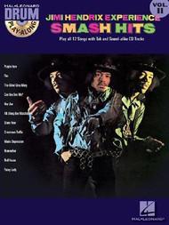 Hal Leonard Drum Play-Along Vol. 11 - Jimi Hendrix Experience Smash Hits (Book/CD Set)
